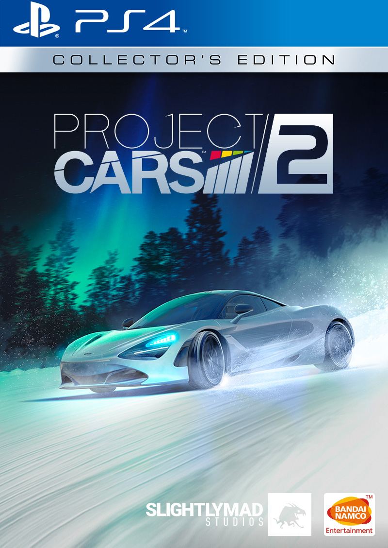 PROJECT CARS 2 - Collector's Edition [PS4] | Bandai Namco Store Europe