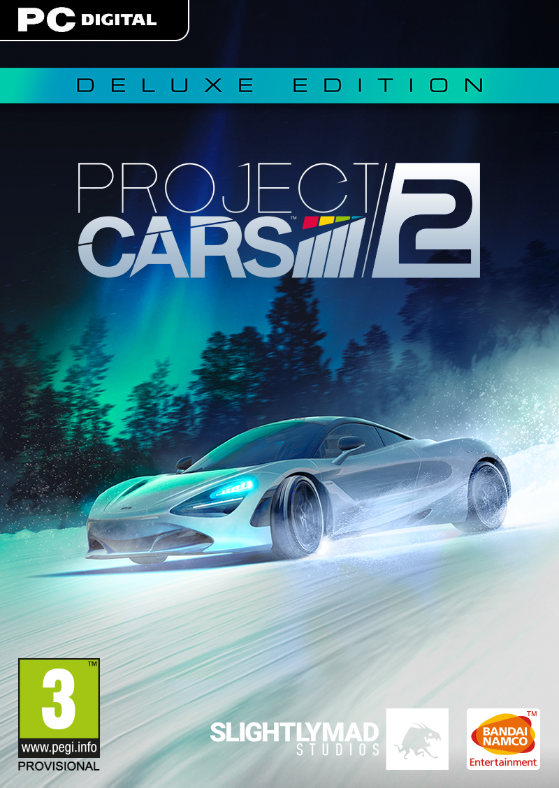 PROJECT CARS 2 - Deluxe Edition [PC Download] | Bandai Namco Store Europe