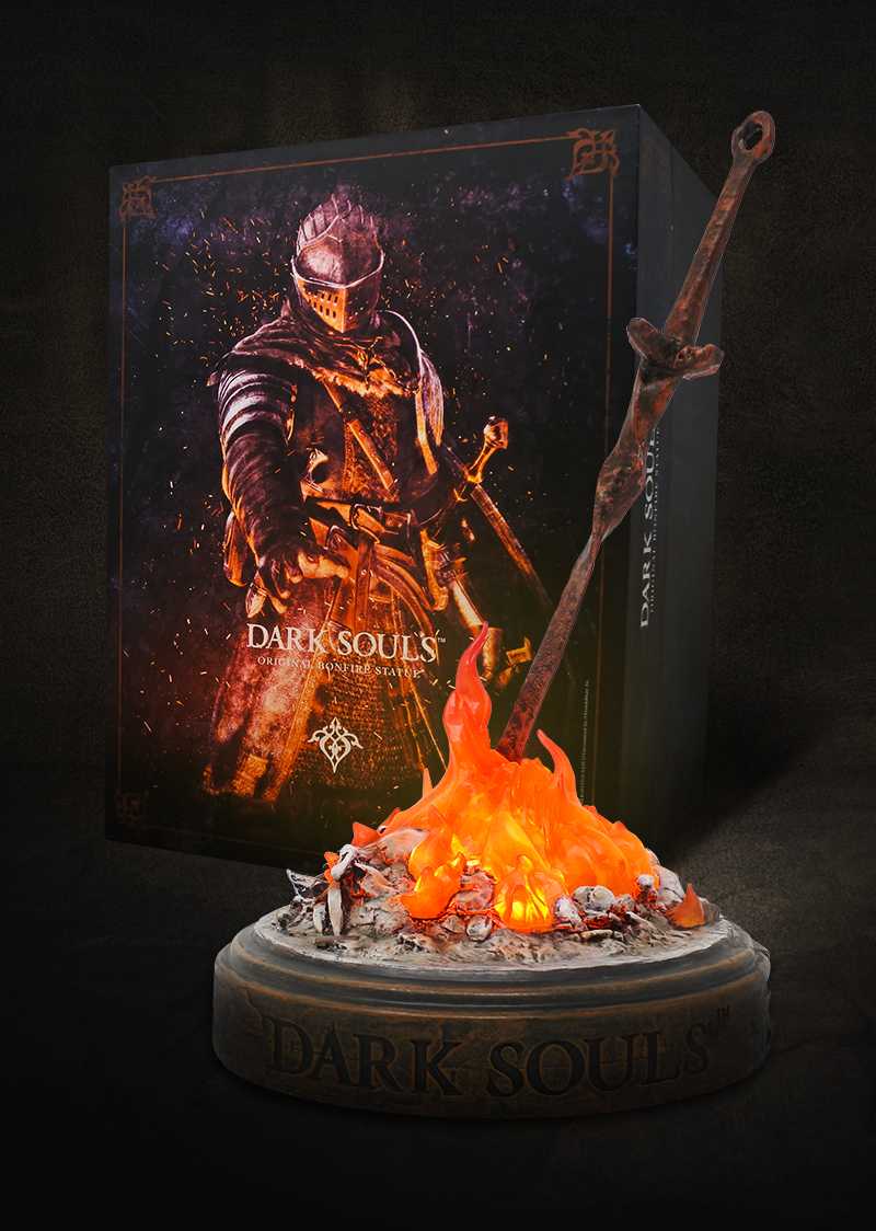 Dark Souls Original Bonfire Statue Bandai Namco Store Europe