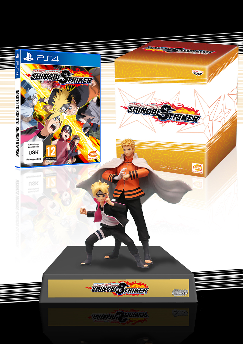 NARUTO TO BORUTO: SHINOBI STRIKER - Collector's Edition [PS4] | Bandai  Namco Store Europe