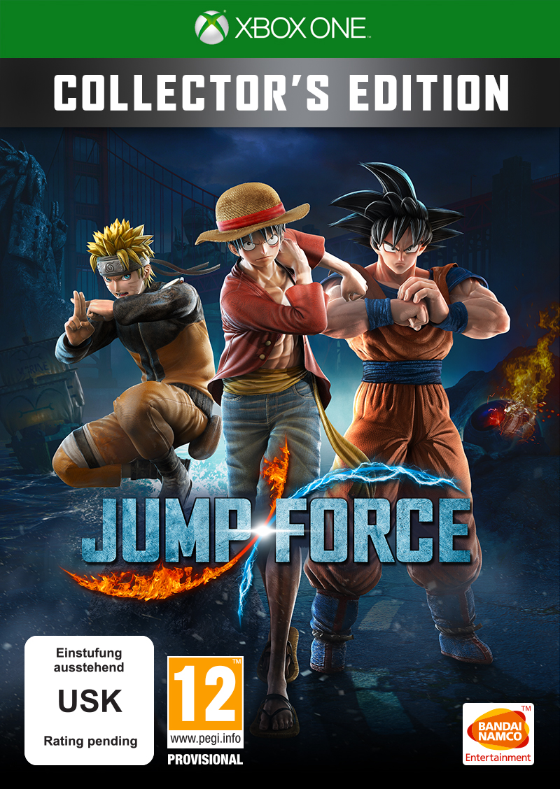 JUMP FORCE - Collector\u0027s Edition [XBXONE] | Bandai Namco Store Europe
