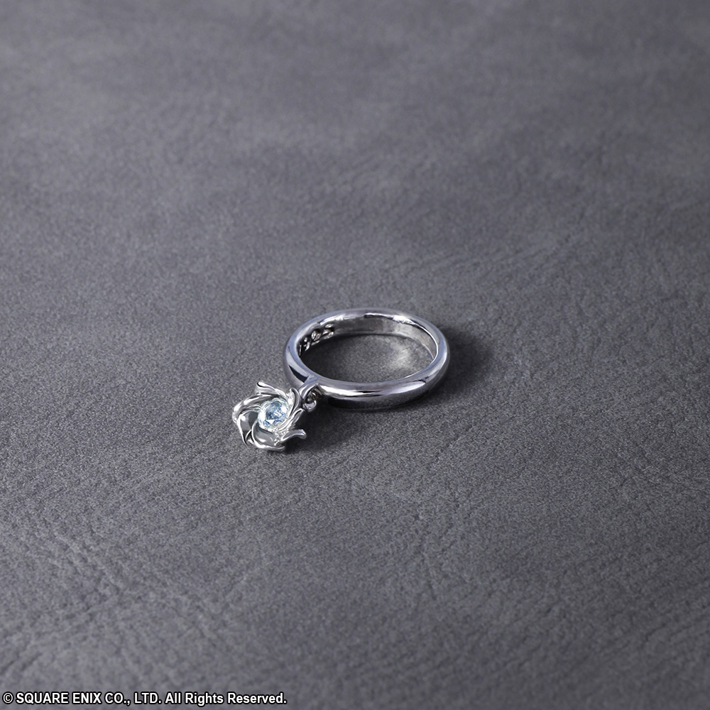 Final Fantasy 174 X Silver Pinky Ring Size 3 5 Jewelry Square Enix Store