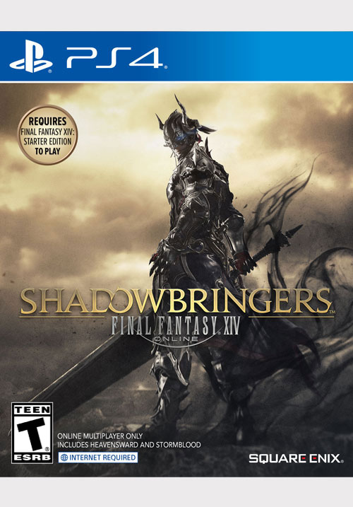 FINAL FANTASY® XIV: SHADOWBRINGERS™ STANDARD EDITION [PS4]