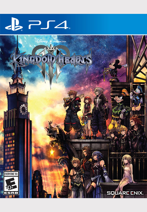 KINGDOM HEARTS III STANDARD EDITION [PS4]