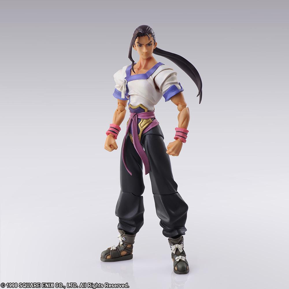 Square Enix Xenogears Bring Arts Fei Fong Wong Action Figure Square-Enix