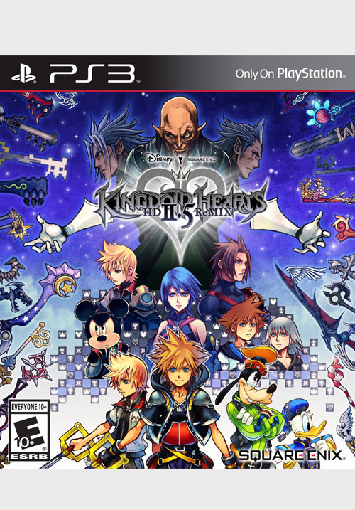 KINGDOM HEARTS HD 2.5 ReMIX STANDARD EDITION [PS3