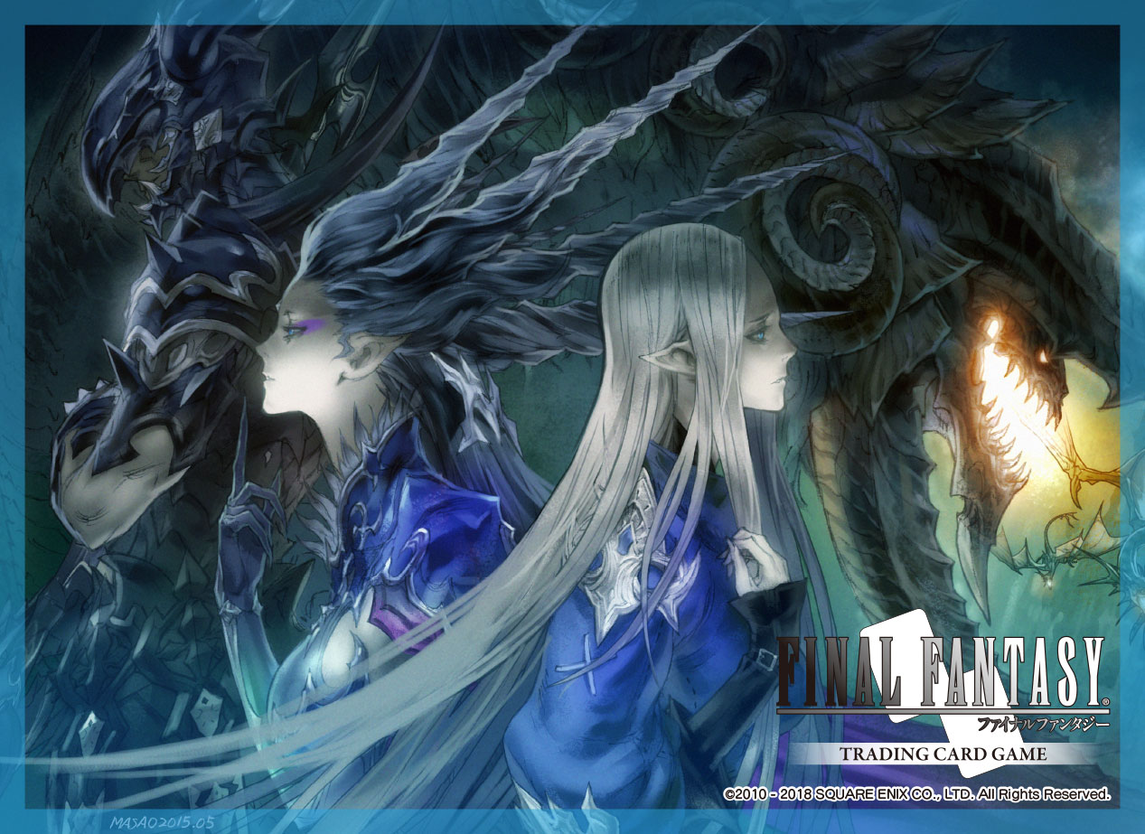 Final Fantasy Trading Card Game Cardsleeve Final Fantasy Xiv