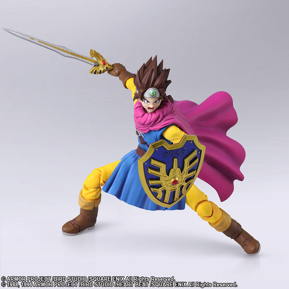 Dragon Quest Viii Angelo Action Figure By Playing Arts Toys Games Action Toy Figures Toys Games