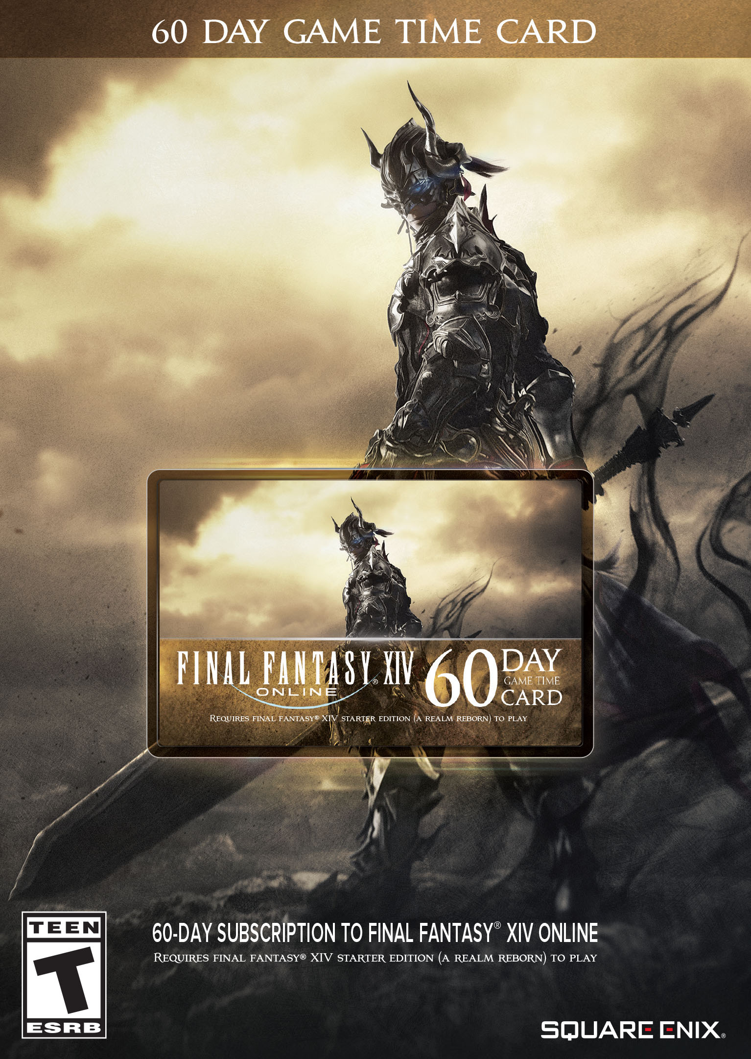 FINAL FANTASY® XIV ONLINE 60 DAY GAME TIME CODE [DOWNLOAD] | Square