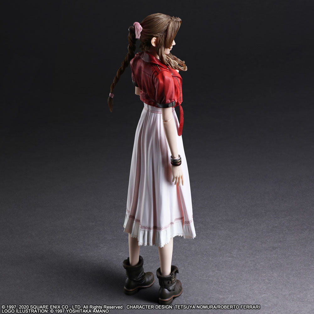 Square Enix Final Fantasy VII Remake PLAY ARTS Kai Aerith Gainsborough Ver.2 PSL