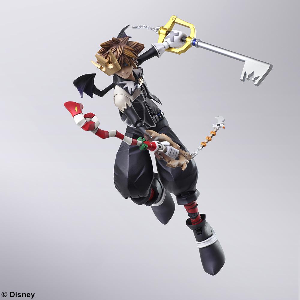 Sora Nightmare Before Christmas Costume.Kingdom Hearts Ii Bring Arts Sora Halloween Town Version Action Figure