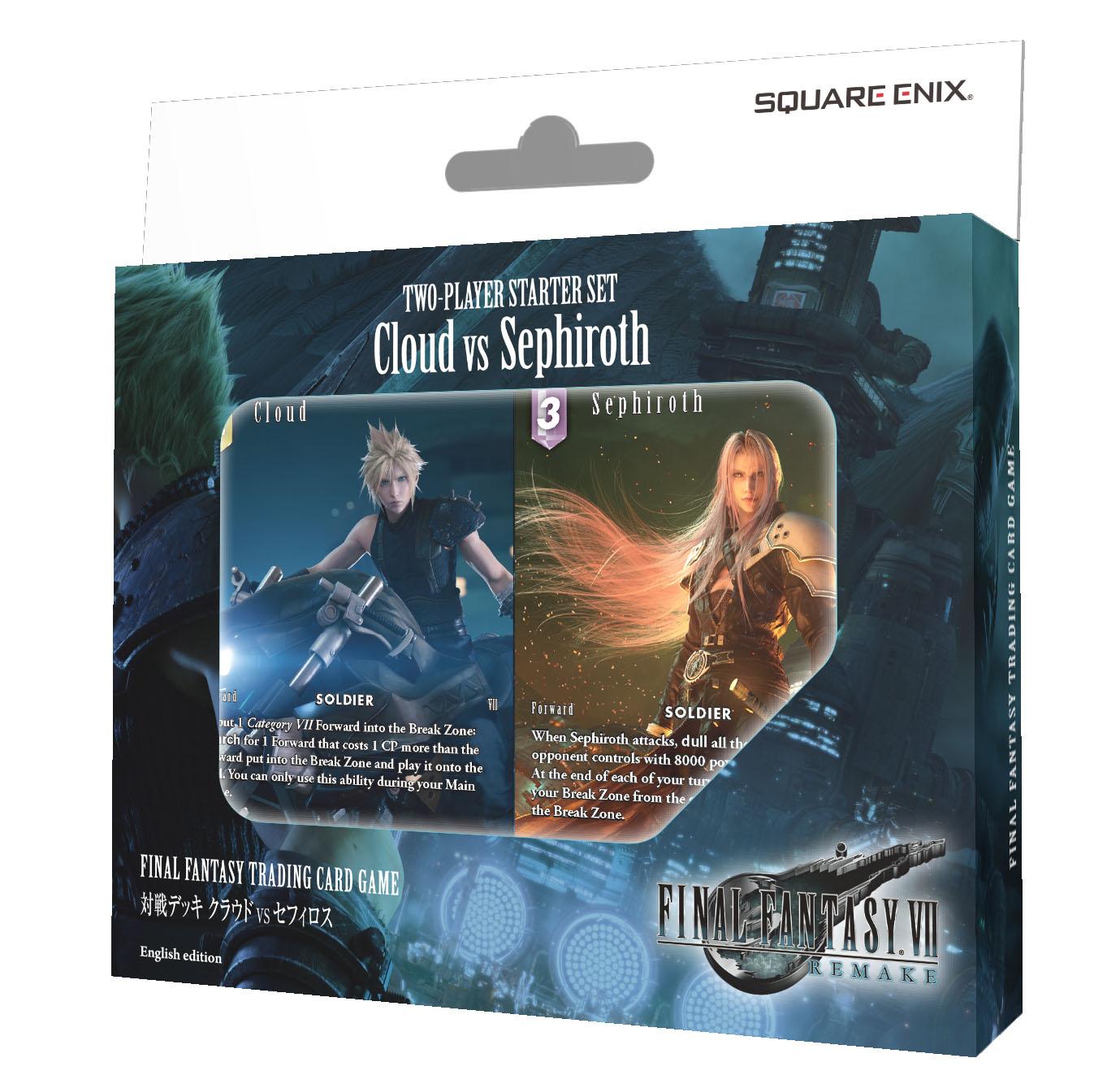 Final Fantasy TCG Opus 11 XI Non-Foil Complete Set Starters Yuna Cloud Sephiroth