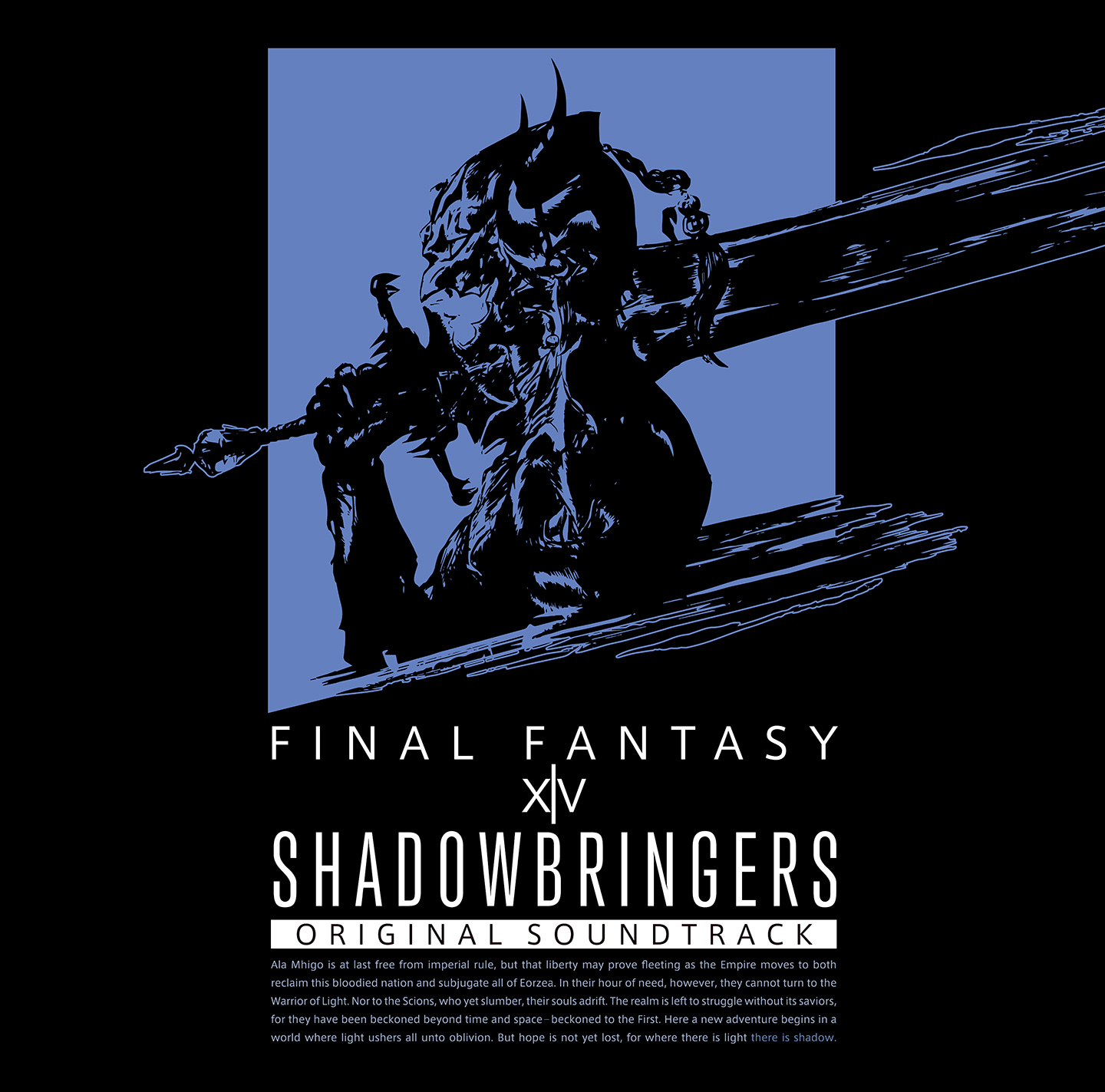 SHADOWBRINGERS: FINAL FANTASY XIV ORIGINAL SOUNDTRACK [BLU-RAY