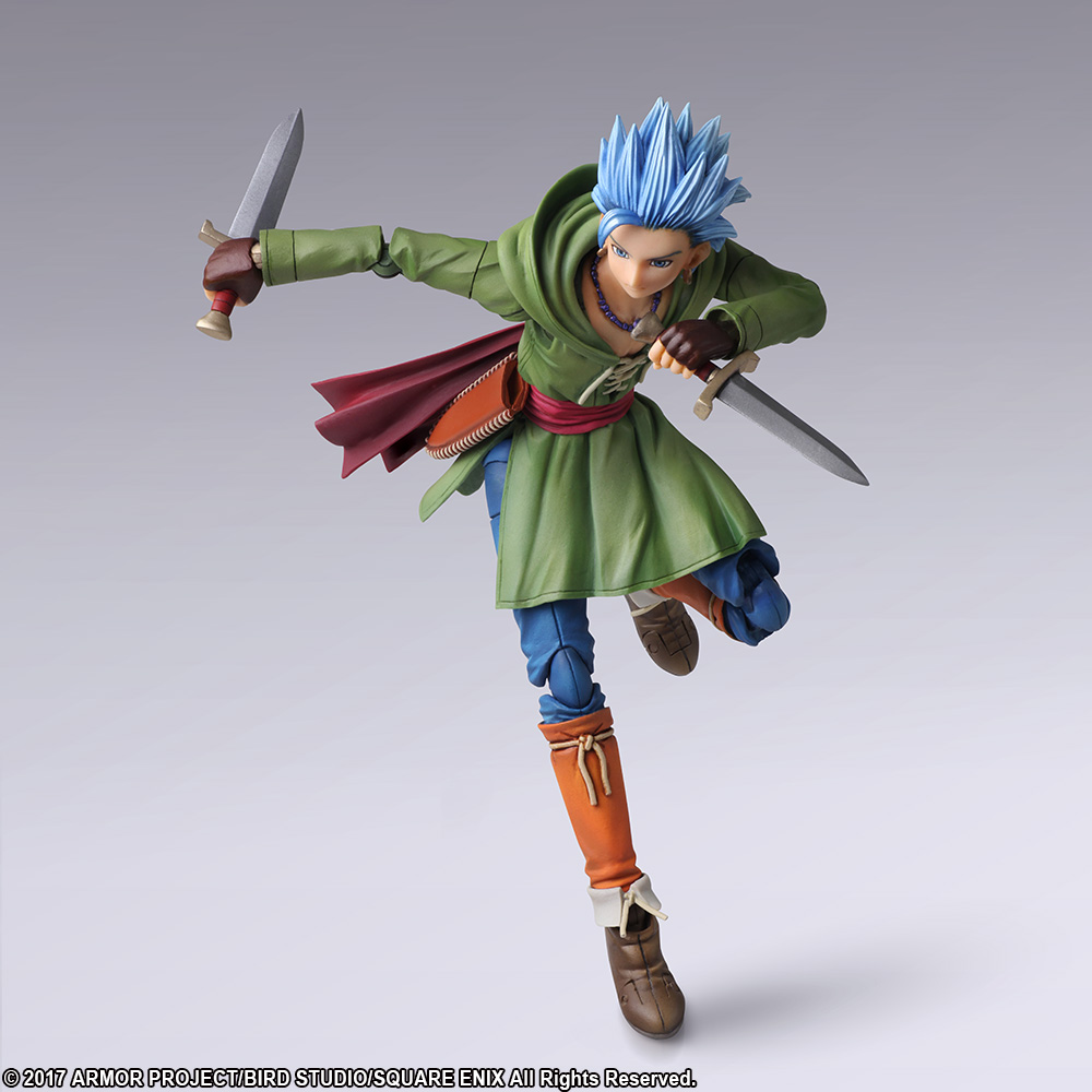 """Bring Arts Dragon Quest XI Echoes of an Elusive Age /""""The Luminary/"""" Action Figure"""