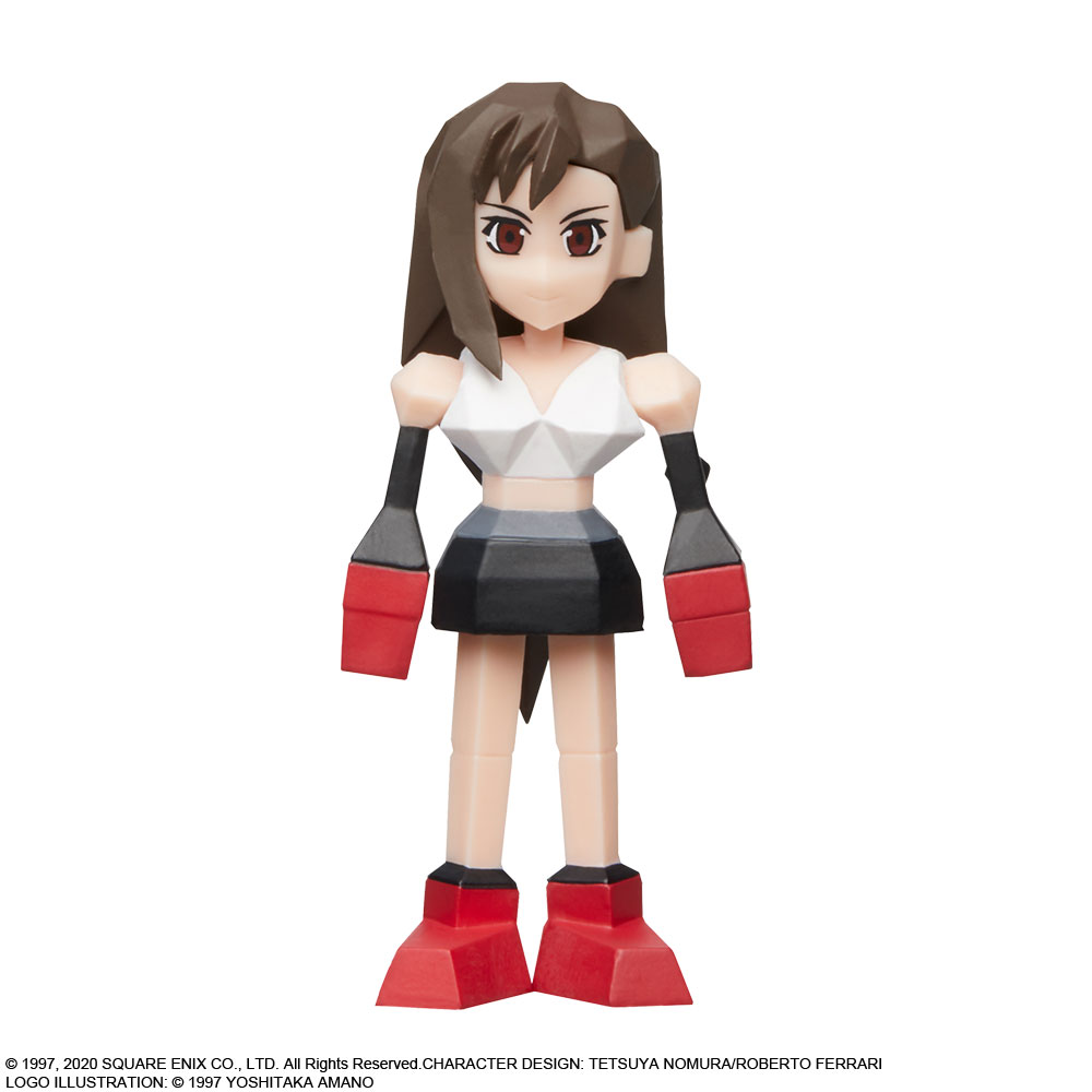 Final Fantasy VII FF7 Reno Polygon Mini Figure Ichiban Kuji New With Box