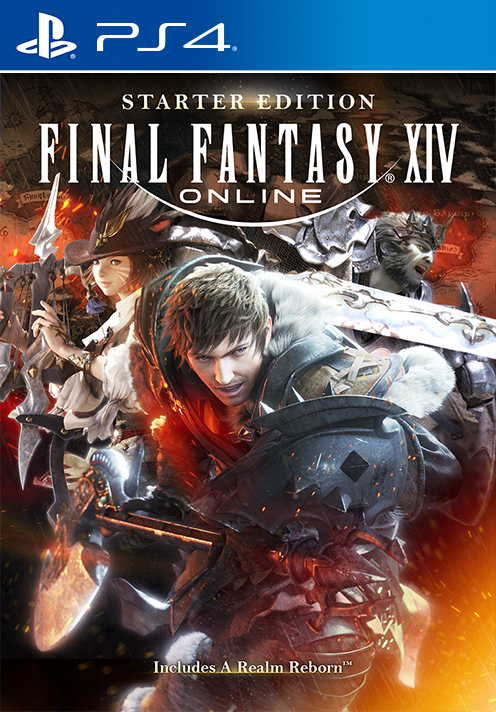 Final Fantasy Xiv Online - Starter Edition Ps4  Square -3312
