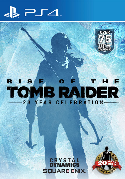 Rise Of The Tomb Raider 20 Year Celebration Ps4 Square Enix Store