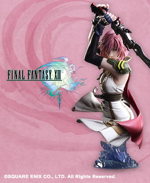 Final Fantasy XIII Static Arts Bust Lightning