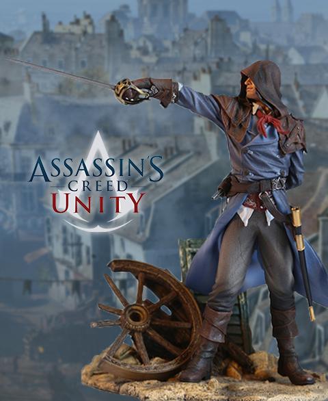Assassins Creed Unity Arno Statue Square Enix Store