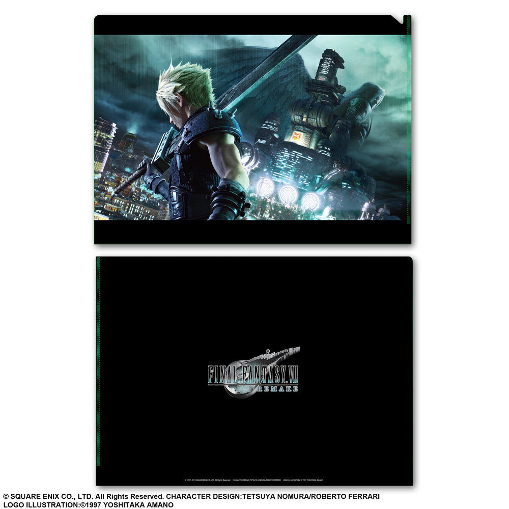 Final Fantasy VII Cloud Remake FF 7 1000 Piece Jigsaw Puzzle PREORDER November