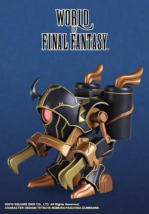 *NEW* World of Final Fantasy Magitek Armor Static Arts Mini Figure Square Enix