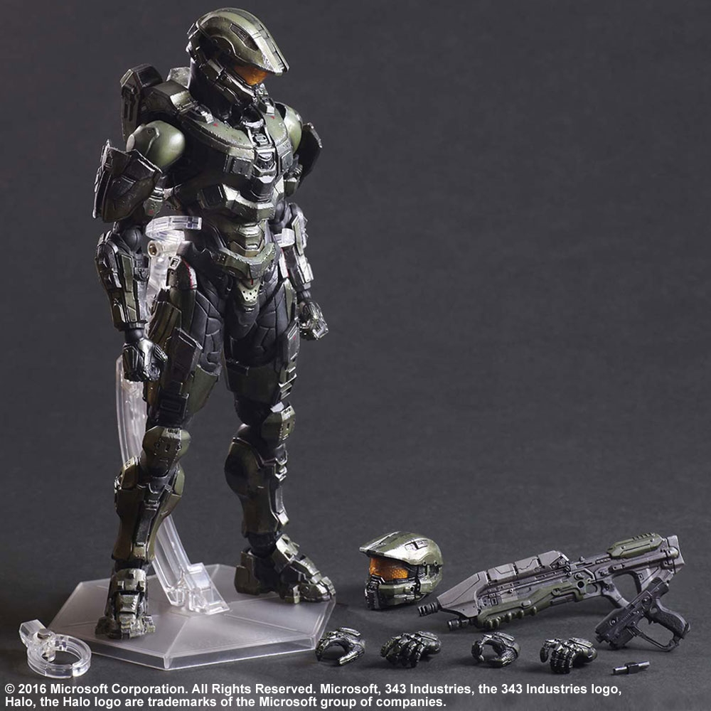 6 Kat Play Arts Kai Figura Azione Halo Reach N