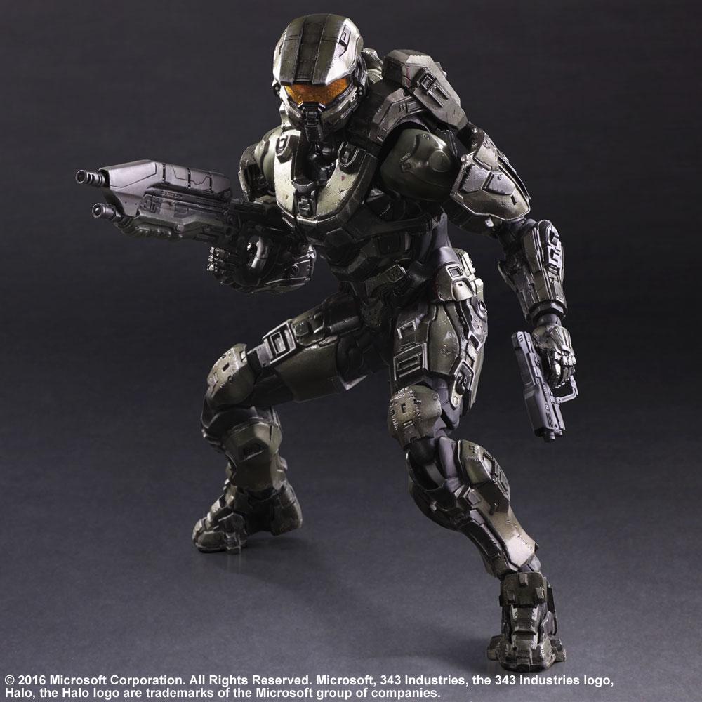 Figurine Halo 5 Guardians Play Arts Kai Master Chief