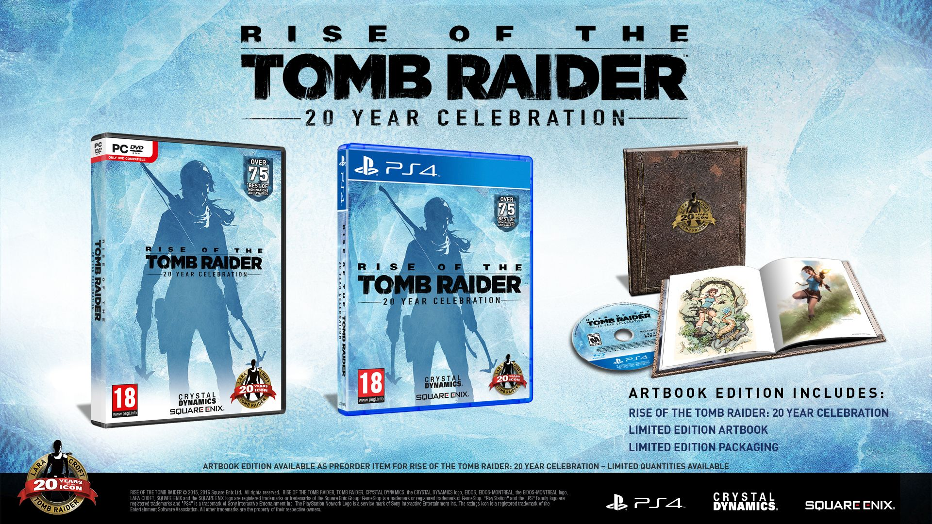 Rise Of The Tomb Raider 20 Year Celebration Pc Square Enix Store