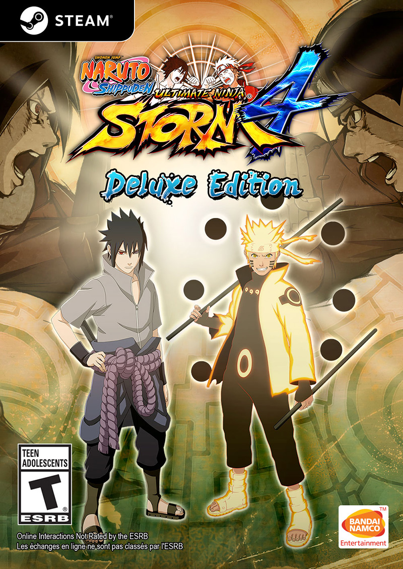 480911a16e NARUTO SHIPPUDEN  Ultimate Ninja STORM 4 Deluxe Edition (Steam Key ...