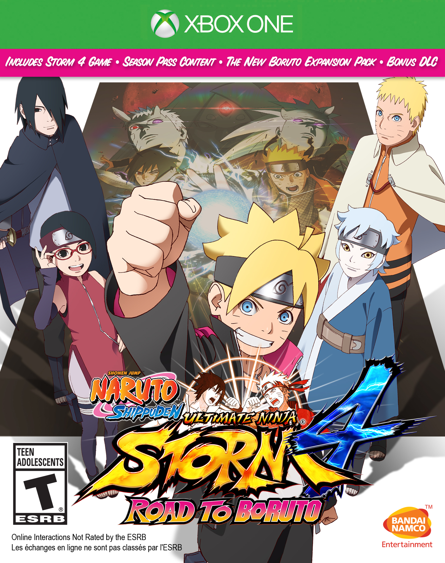 NARUTO SHIPPUDEN: Ultimate Ninja STORM 4 Road to BORUTO (Xbox One) | Bandai  Namco Store