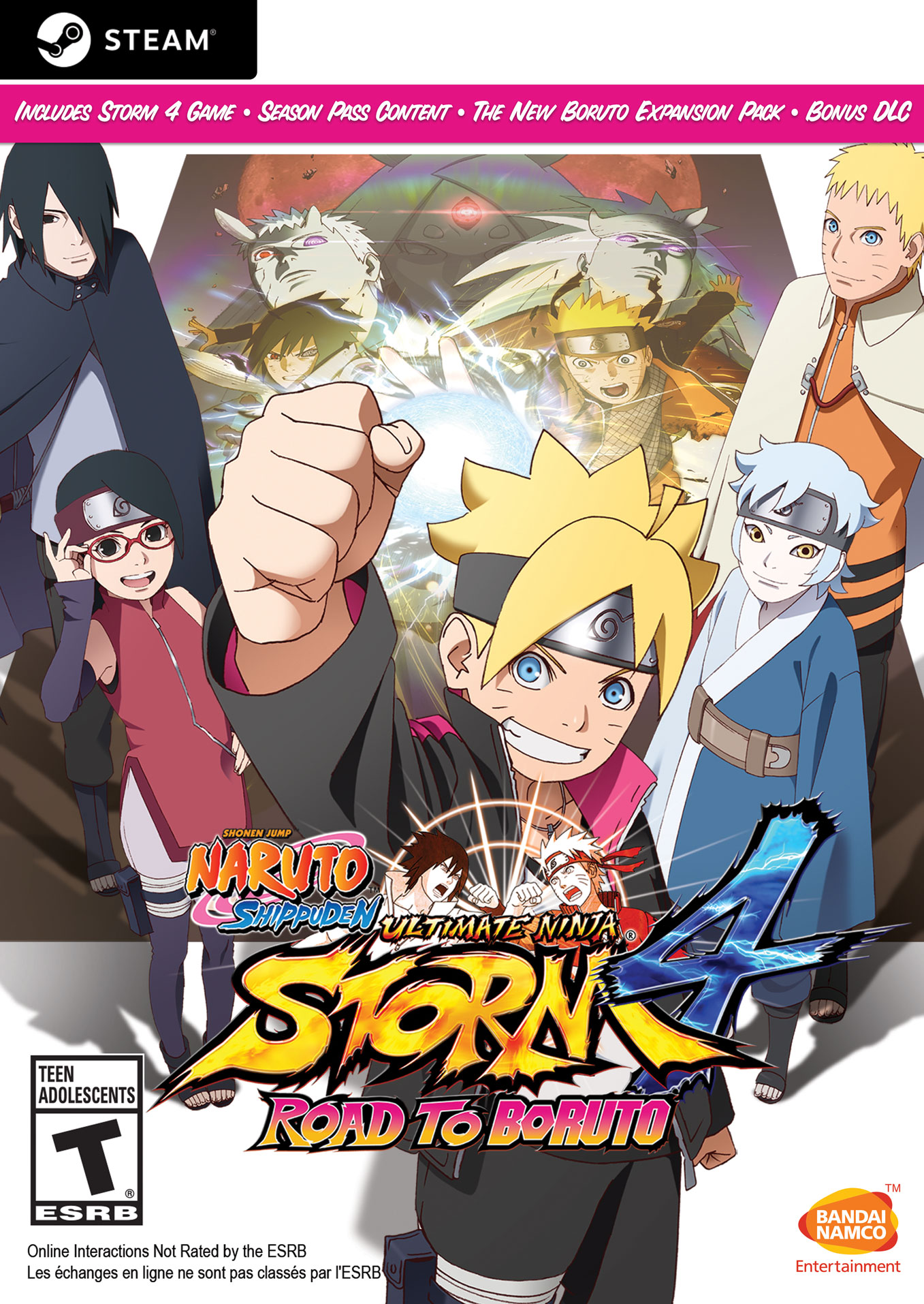 NARUTO SHIPPUDEN: Ultimate Ninja STORM 4 Road to BORUTO (Steam Key) |  Bandai Namco Store