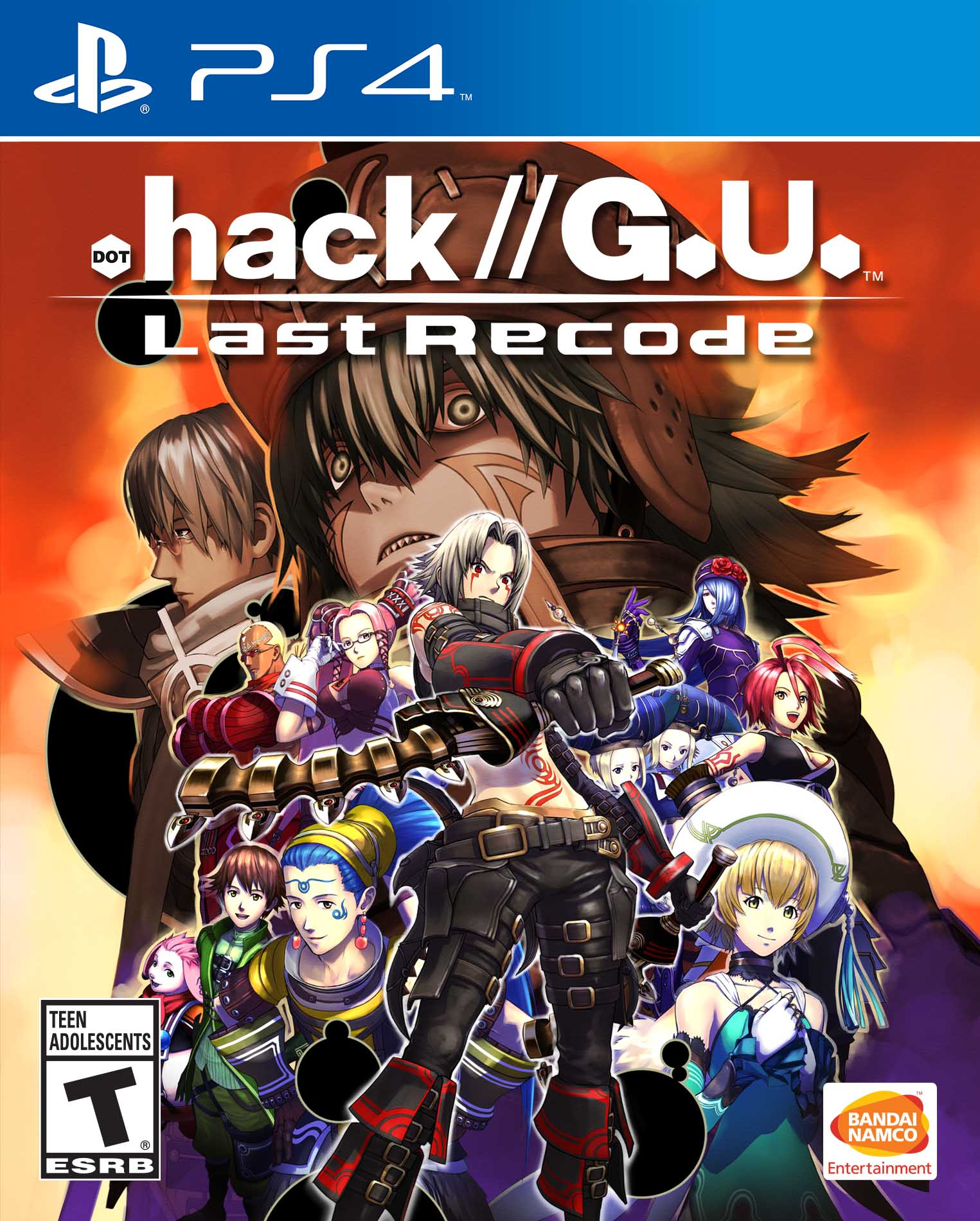 Hack G U Last Recode Playstation 4 Bandai Namco Store