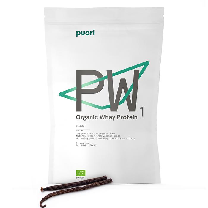Puori PW1 Bourbon Vanilla Organic Whey Protein | Puori
