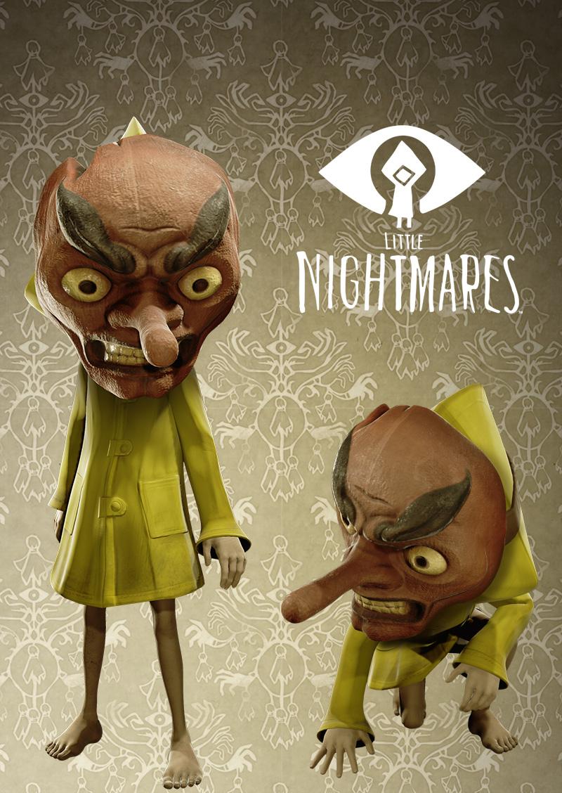 TENGU MASK LITTLE NIGHTMARES [PS4] DLC - Bandai Namco Epic ...
